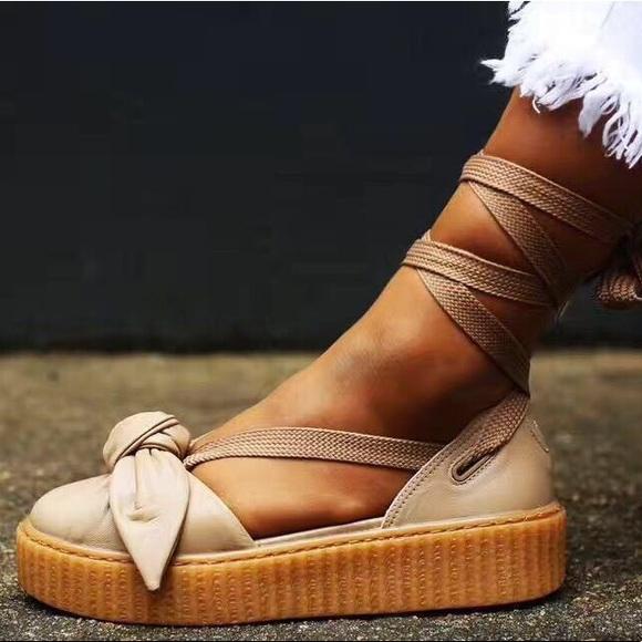 84fd2f71b47eaf ... Bow Creeper Sandals 5.5 New. M 5bccf461fe51511c2ecd4dd6